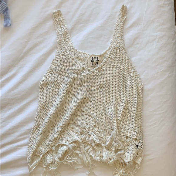 PPLA Tops - Cute cover up/top